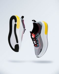 high sole running shoes